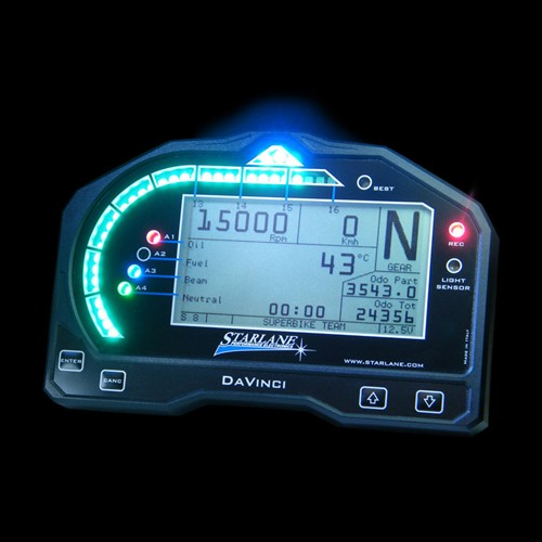 Quick Shifter Automatic Chrono Gear Indicator Digital Dashboard