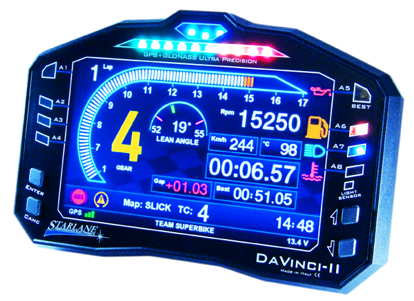 Professional racing data acquisition system - plug&play digital